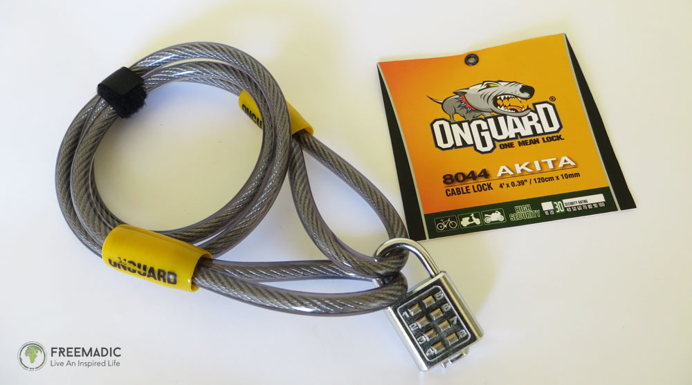 OnGuard Cable with Combination Lock